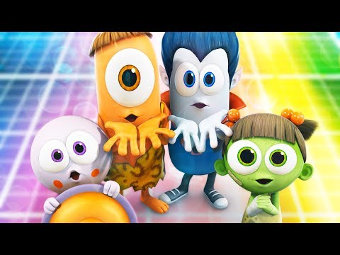 Halloween Cartoon: Spookiz | Funny Cartoon | 스푸키즈 | Kids Cartoons | Videos For Kids Videos For Kids
