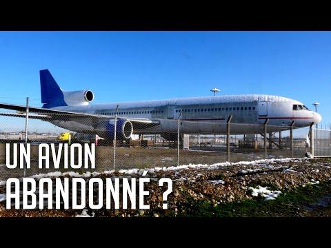 ✈️ L'avion ABANDONNÉ de l'Aéroport LYONNAIS