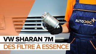 Comment remplacer un filtre à carburant sur une VW SHARAN 7M TUTORIEL | AUTODOC