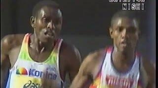 男子10000m 2001年. 2位マイナ 3位シーブラー 4位渡辺康幸 平成10年. 20...