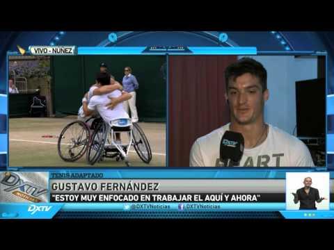 GUSTAVO FERNANDEZ - TENIS ADAPTADO