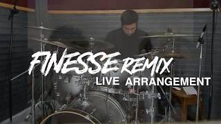 Bruno Mars Finesse Remix Feat. Cardi B Live Arrangement Cover.mp3