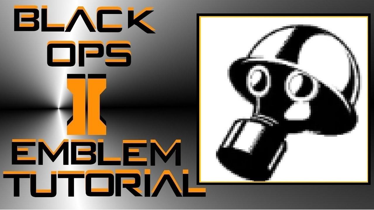 How to make gas mask emblem black ops — pic 2