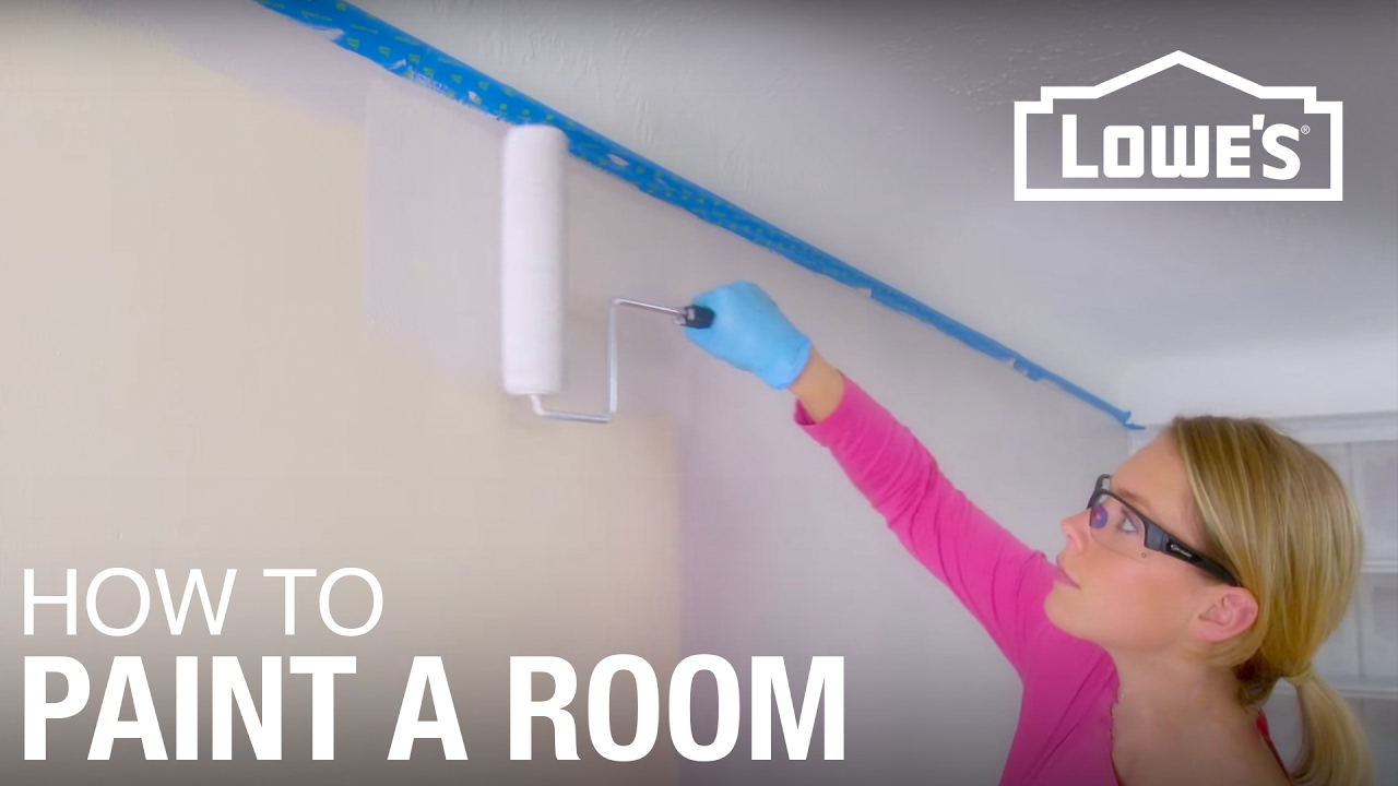 How to Paint a Room - Basic Painting Tips - YouTube