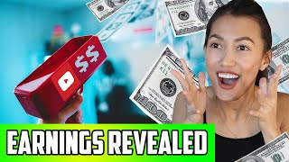 Our First Year Making Money On YouTube | How Much Do YouTubers Make?