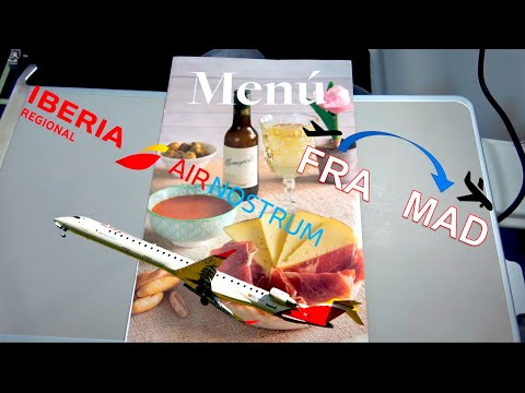 ✈︎ TRIP REPORT ✈︎ Why IBERIA Regional became so Boring !! Frankfurt-Madrid CRJ1000