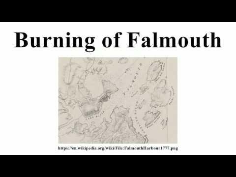 Burning of Falmouth