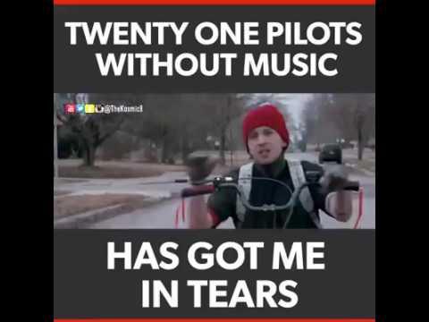 NGAKAK begini lagu stressed out tanpa musik.!!!