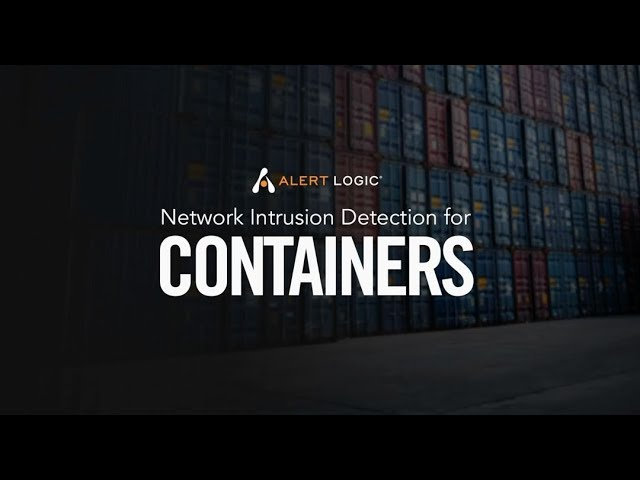Network Intrusion Detection for Containers