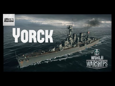 World of Warships Replay | Yorck | Doch nicht so schlimm das Gerät [ Deutsch | Gameplay | German ]