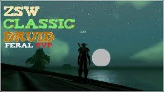 [WoW Classic] Feral Druid PvP Montage (와우 클래식 야성 드루이드 PvP)
