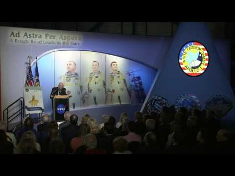 New Apollo 1 Tribute Opened at Kennedy Space Center Visitor Complex