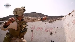 U.S. Marines Grenade Training Exercise
