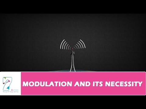 MODULATION AND ITS NECESSITY