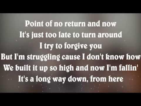 One Direction - Long Way Down (Lyrics)