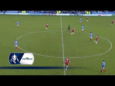 Portsmouth 2-2 Aldershot Town - FA Cup First Round | Goals & Highlights