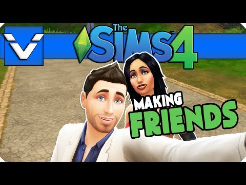 Sims 4 Mini Series  Making Friends  Gameplay  Let's Play  Part 12