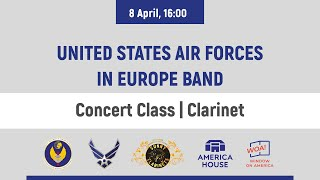 United States Air Forces in Europe Band | Concert Class | Clarinet | 8 April | 16:00