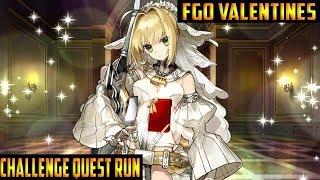 FGO NA & JP: Valentines Challenge Quest Run!