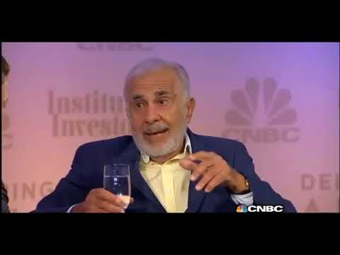 Carl Icahn  Bill Ackman FULL interview