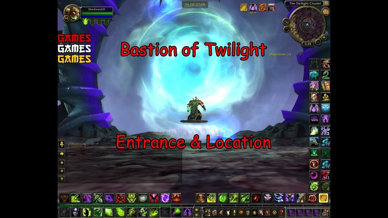 Bastion of Twilight Raid Entrance & Location - YouTube