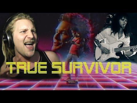 DAVID HASSELHOFF - TRUE SURVIVOR (Metal Cover By Martin Szorad And Rob Lundgren) KUNG FURY