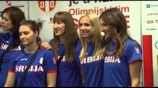 Olimpijci Srbije otputovali u London