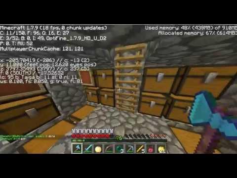 Minecraft Raiding on Mythcraft! -Ep3: So MUCH SPAWNERS!!!!!