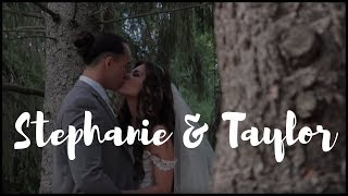 Stephanie & Taylor's NJ Same Day Edit SDE Wedding Video at Perona Farms in Andover NJ by www abellas