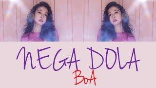 BoA - NEGA DOLA [Hang, Rom & Eng Lyrics]