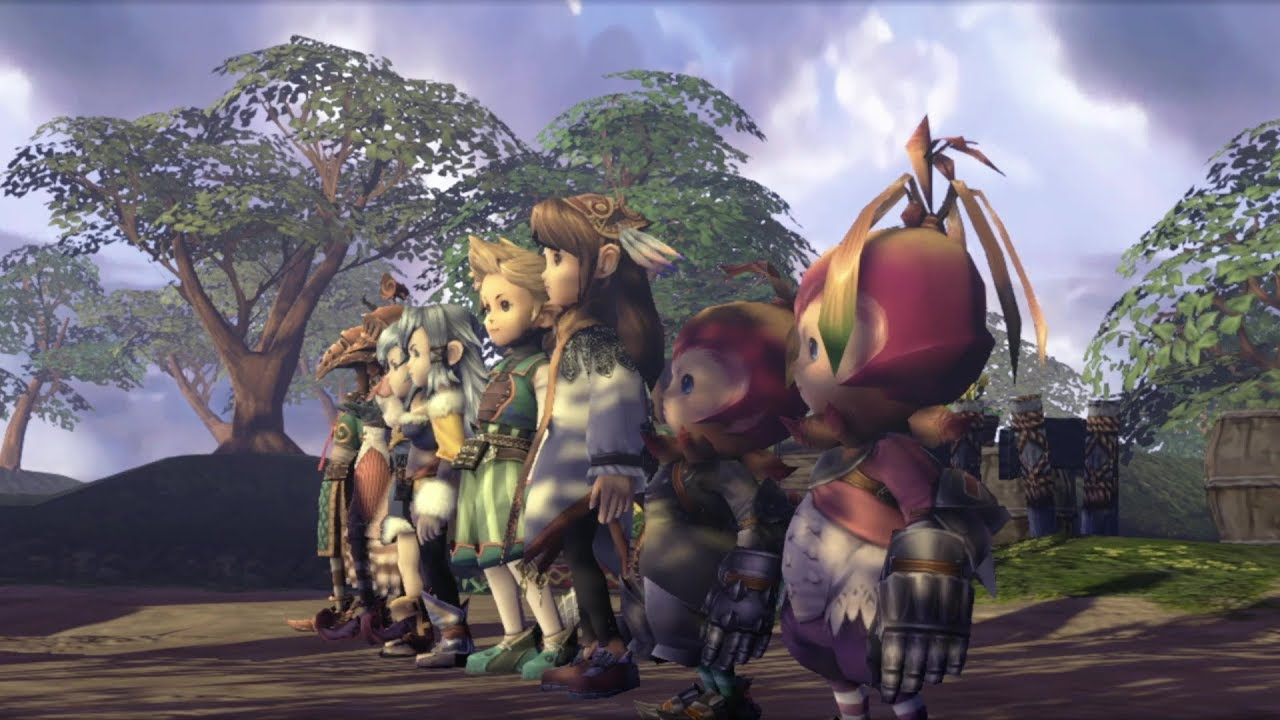 Final Fantasy Crystal Chronicles Remastered Edition - Release Date Trailer
