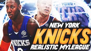 NBA 2K20 KNICKS MYLEAGUE