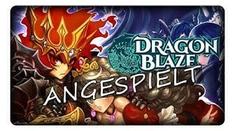 DRAGON BLAZE    Angespielt   Deutsch   German