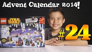 2014 LEGO STAR WARS Advent Calendar DAY 24 - Set 75056 + Question of the Day!