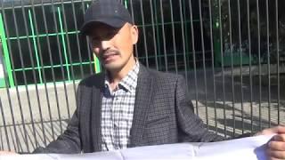 В Уральске на протест вышел полицейский
