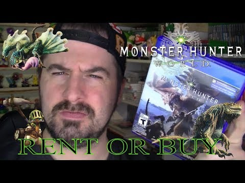 MONSTER HUNTER WORLD RENT OR BUY