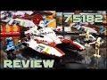 Lego Star Wars 75182 Republic Fighter Tank Review   Обзор Лего Звёздные Войны Боевой Танк Республики