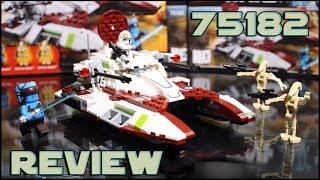Lego Star Wars 75182 Republic Fighter Tank Review | Обзор Лего Звёздные Войны Боевой Танк Республики