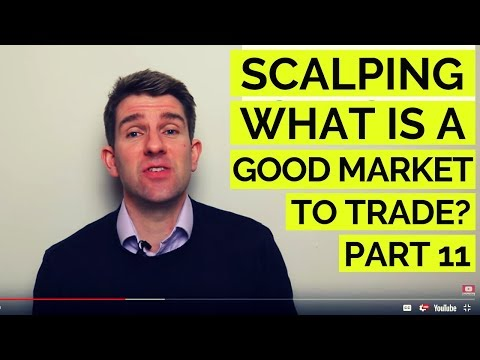 SCALPING: WHAT IS A GOOD MARKET TO TRADE? ✊