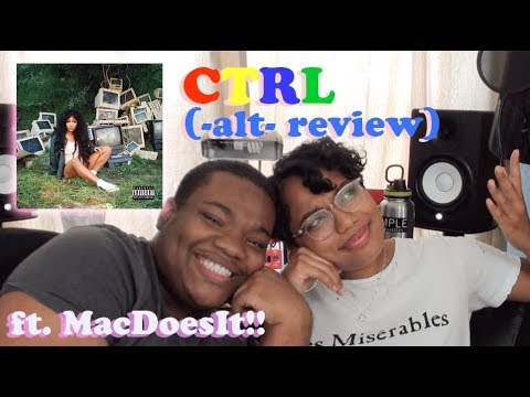 SZA- Ctrl ALBUM REACTION/REVIEW With MacDoesIt