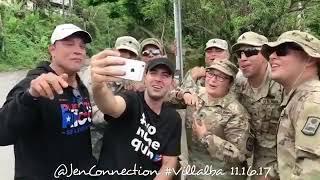 Osvaldo Rios, Jencarlos Canela y la Guardia Nacional de PR