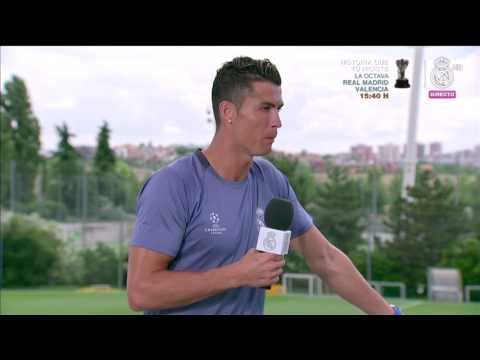 Cristiano Ronaldo | Real Madrid Open Media Day Final Champions 2017