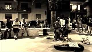 LET HER GO - Edwin One Man Band - Busking Summer Tour 2014 - Vasto Marina
