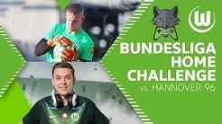 RE-LIVE | Bundesliga Home Challenge vs. Hannover 96 | Bene Bauer & Lino Kasten | VfL Wolfsburg