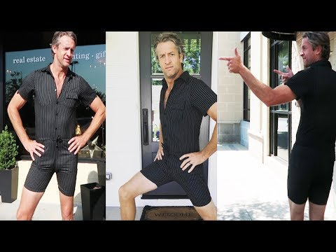 The RompHIM in action // Male Romper // The Holderness Family