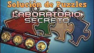 """Hearthstone - Solución de puzzles """"Laboratorio Secreto"""""""