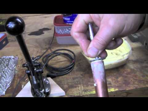 Lubing and sizing bullets - Part 3 Lubrisizing bullets.mov