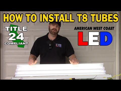 How to Retrofit - Direct Wire T8 Tube Lamps R D Led Tube No Ballast Wiring Diagram on
