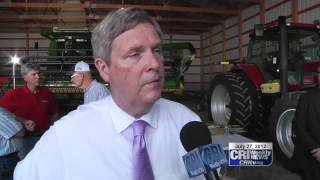 US Secretary of Agriculture Tom Vilsack: Farm Summit.
