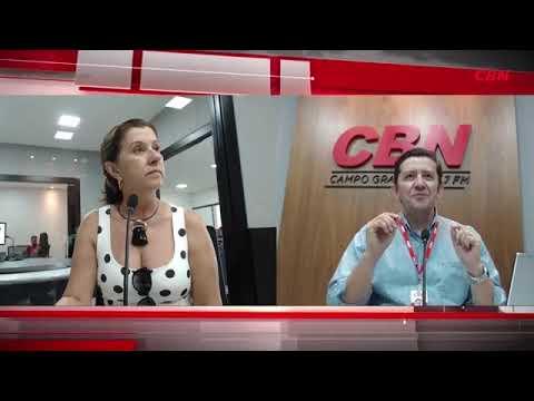 Entrevista CBN Campo Grande: Tete Zahran (Maria Tereza)